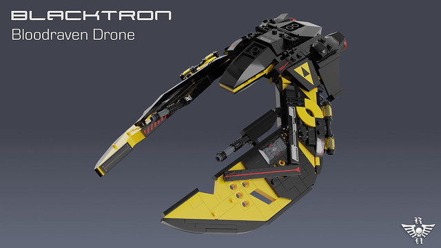 Blacktron Bloodraven Drone