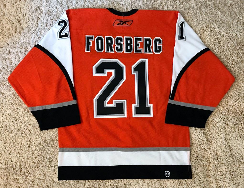 2006-07 Peter Forsberg (Back)