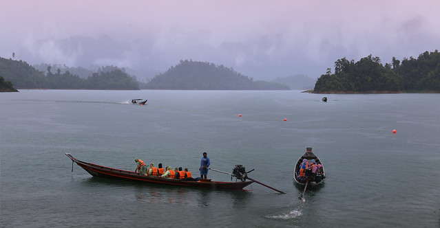 Wet departure at Khao Sok National Park