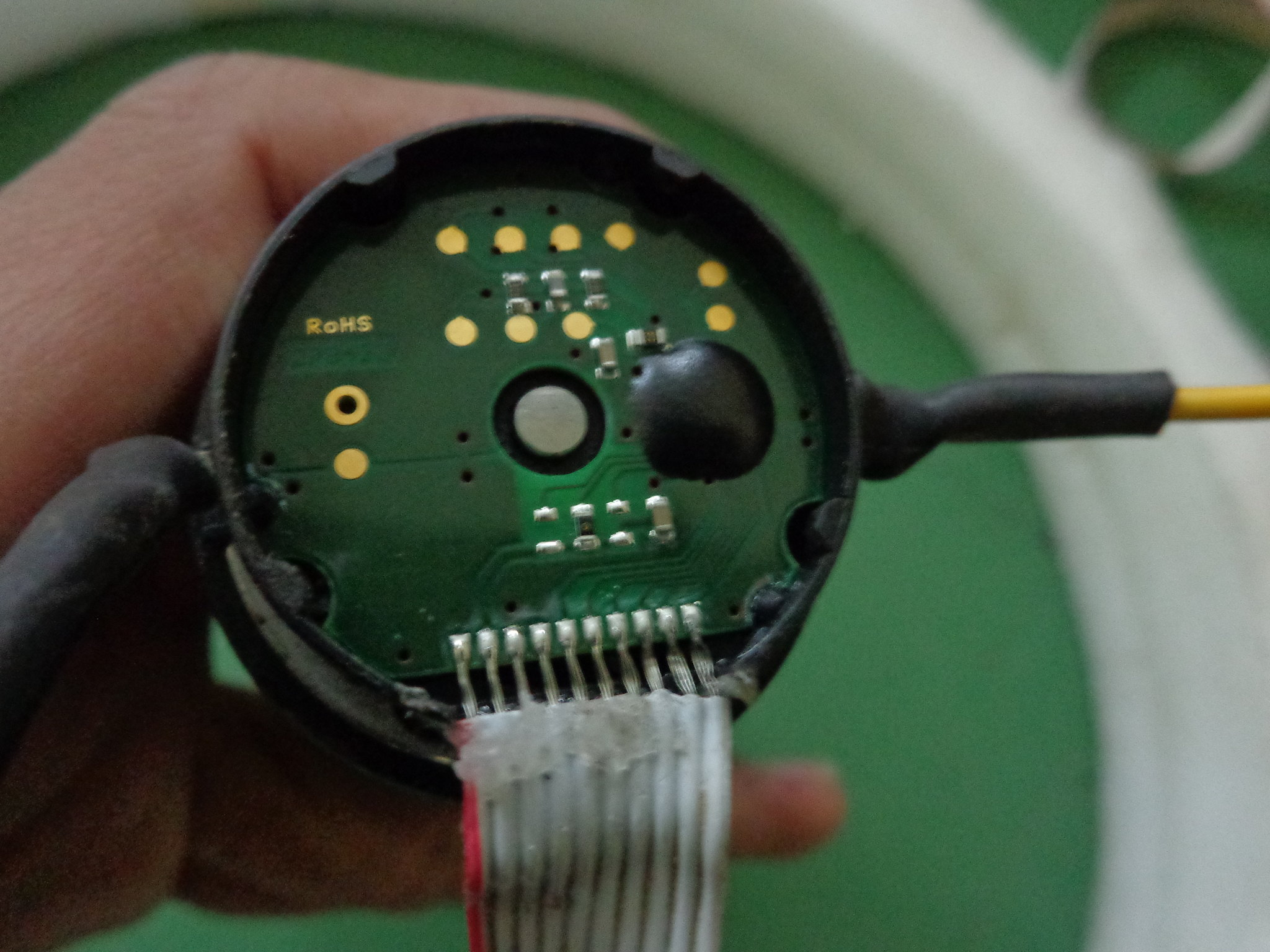 Maxon Motor Encoder Circuit (Opened)