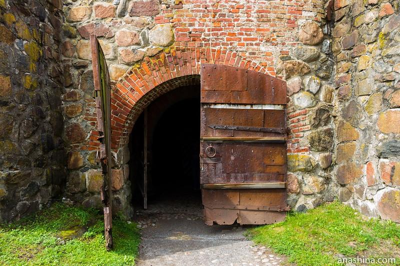 Ворота Круглой башни, крепость Корела в Приозерске