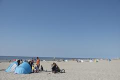 Hiking at the island Texel