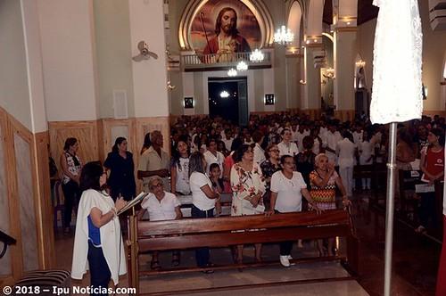 Paróquia São Sebastião de Ipu realiza a primeira Eucaristia de jovens e  adultos