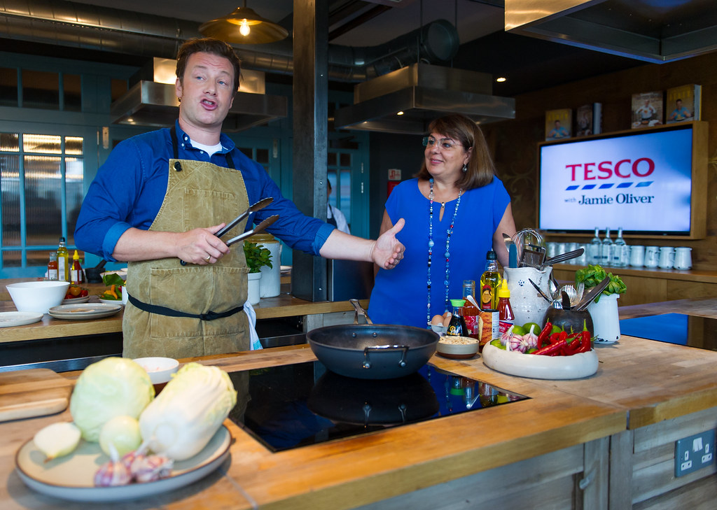Jamie Oliver joins Tesco to help make healthier eating a little easier