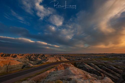 sd badlands sunset