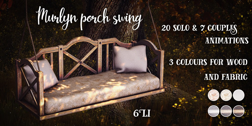 Murlyn porch swing @Sense