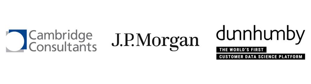 Cambridge Consultants, J.P. Morgan and dunnhumby