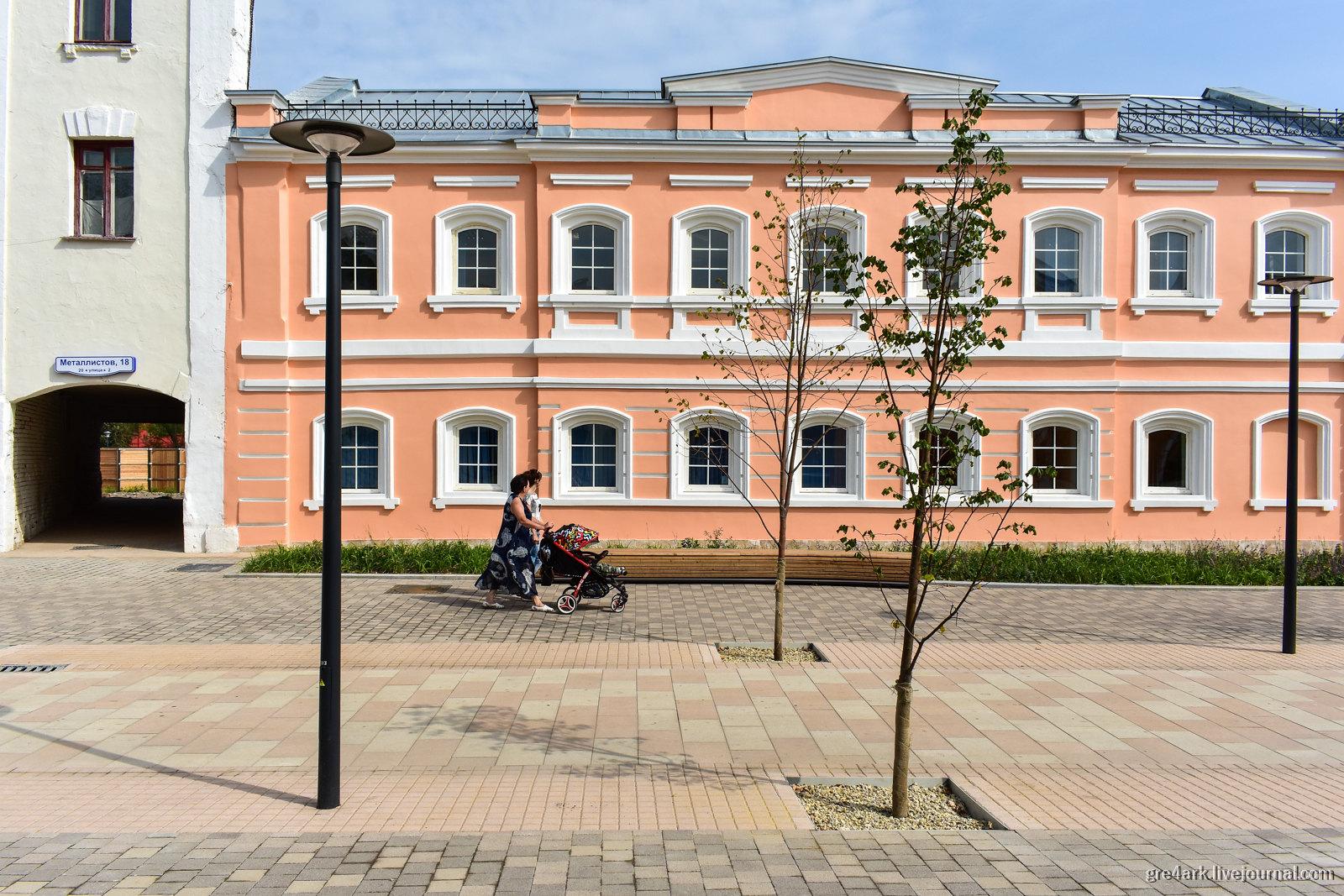 Тула: на пути к комфортному городу общественные зоны