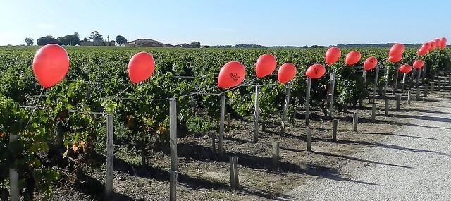 Les ballons rouges
