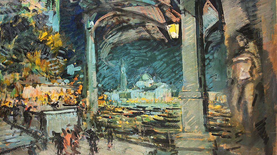 Константин Коровин Венеция Вид на отров и церковь святого Георгия 1906