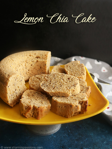 lemon chia cake recipe