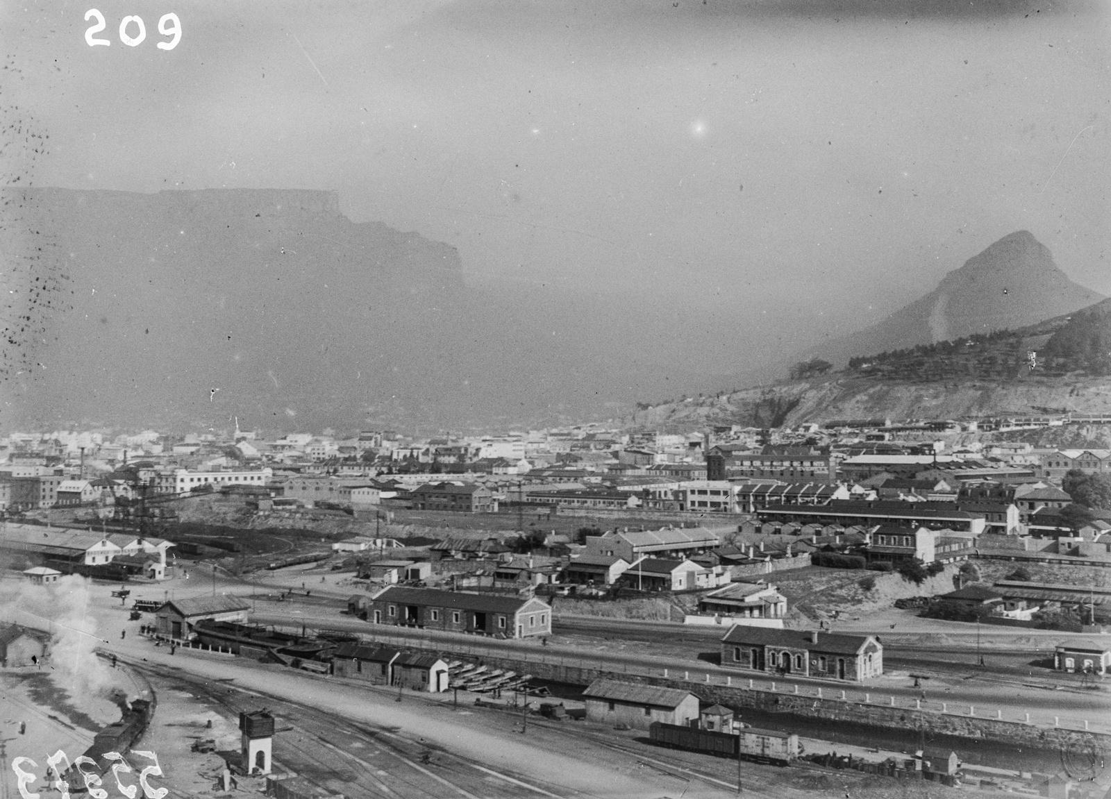 Южно-Африканский Союз. Кейптаун. Городской пейзаж