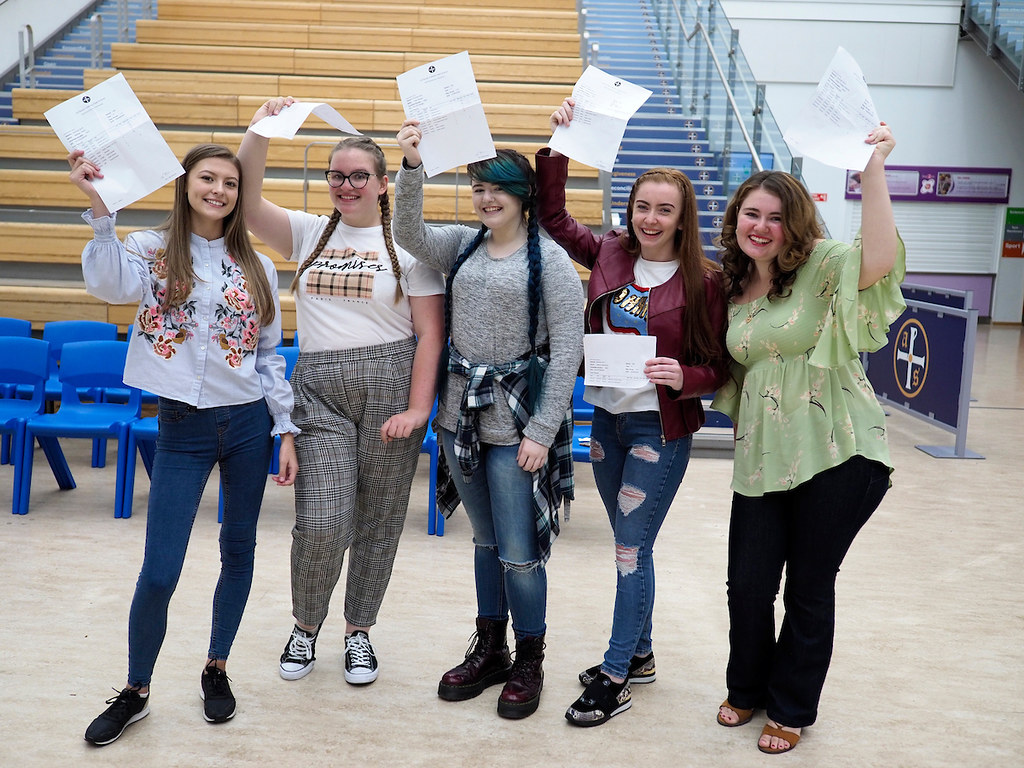 GCSE results 2018 All Saints Catholic Centre for Learning, Kirkby