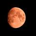 Orange Moon in Seattle by Kirk Stauffer