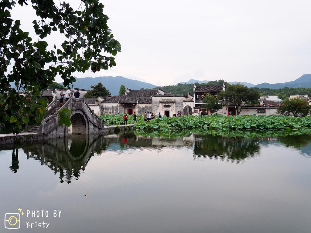 006-宏村風景湖+橋拷貝