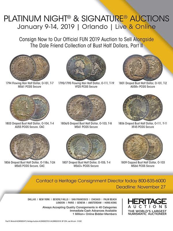 Heritage E-Sylum ad 2018-09-09
