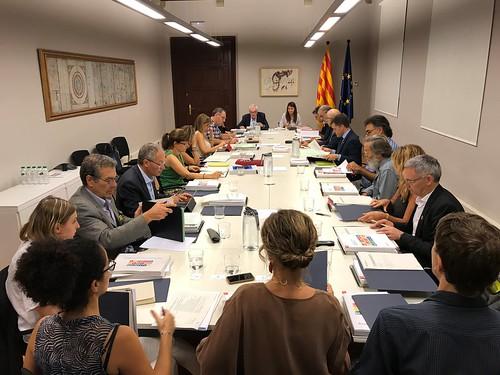 Generalitat de Catalunya, Departament Relacions Institucionals