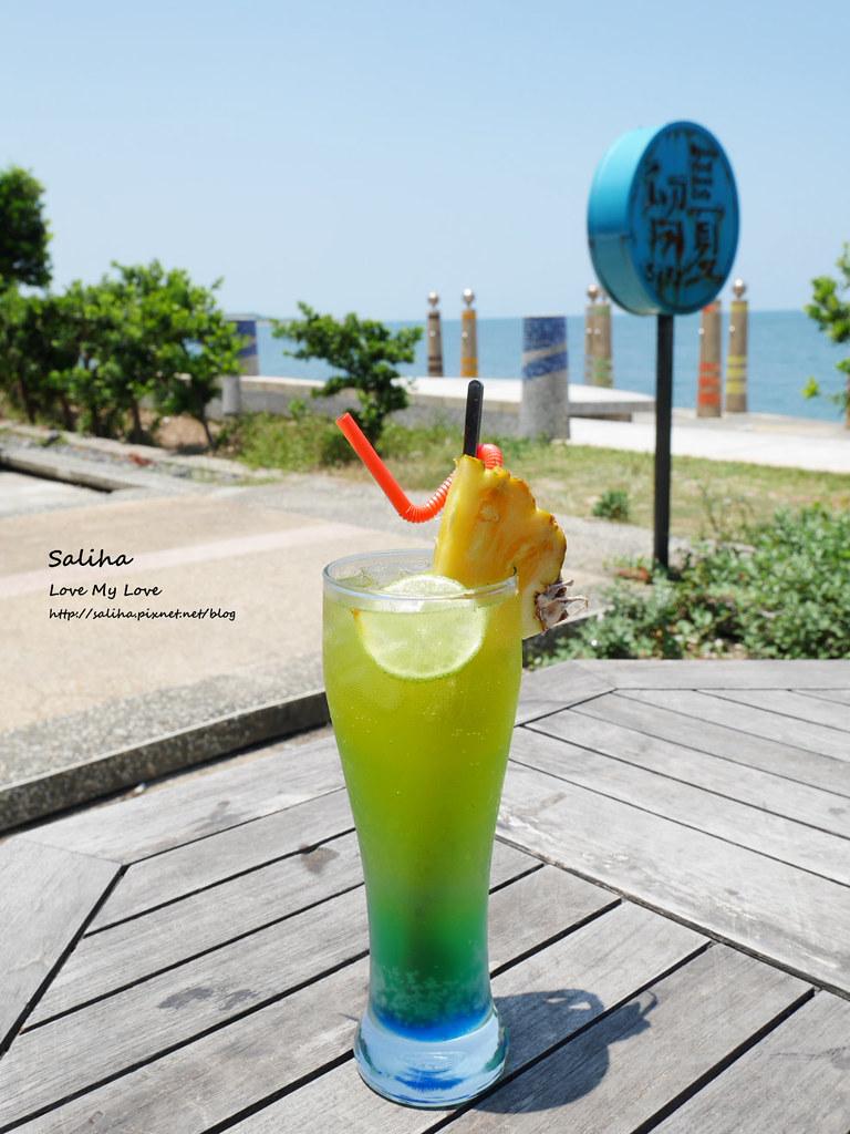 新北三芝淺水灣留夏下午茶咖啡義大利麵餐點心得推薦 (2)