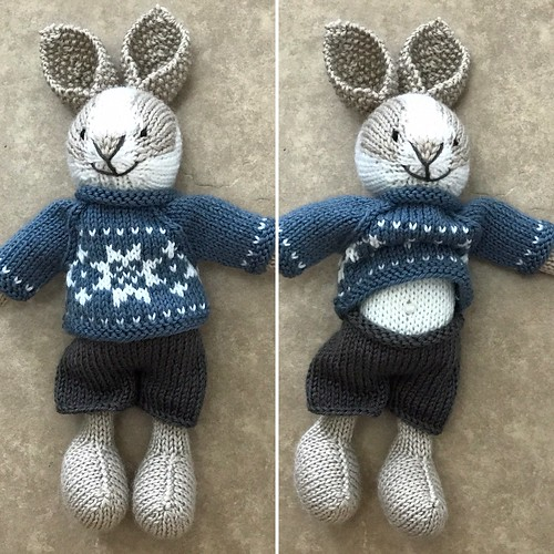 Girl or Boy Bunny Class (by Julie Williams) - Saturdays, October 20, 27, November 3 and 10th from 10 am to 12 pm