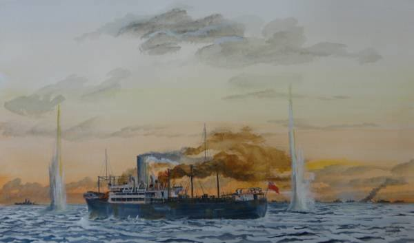 SS Beaverford, or 'Scheer Carnage' 5th Nov 1940
