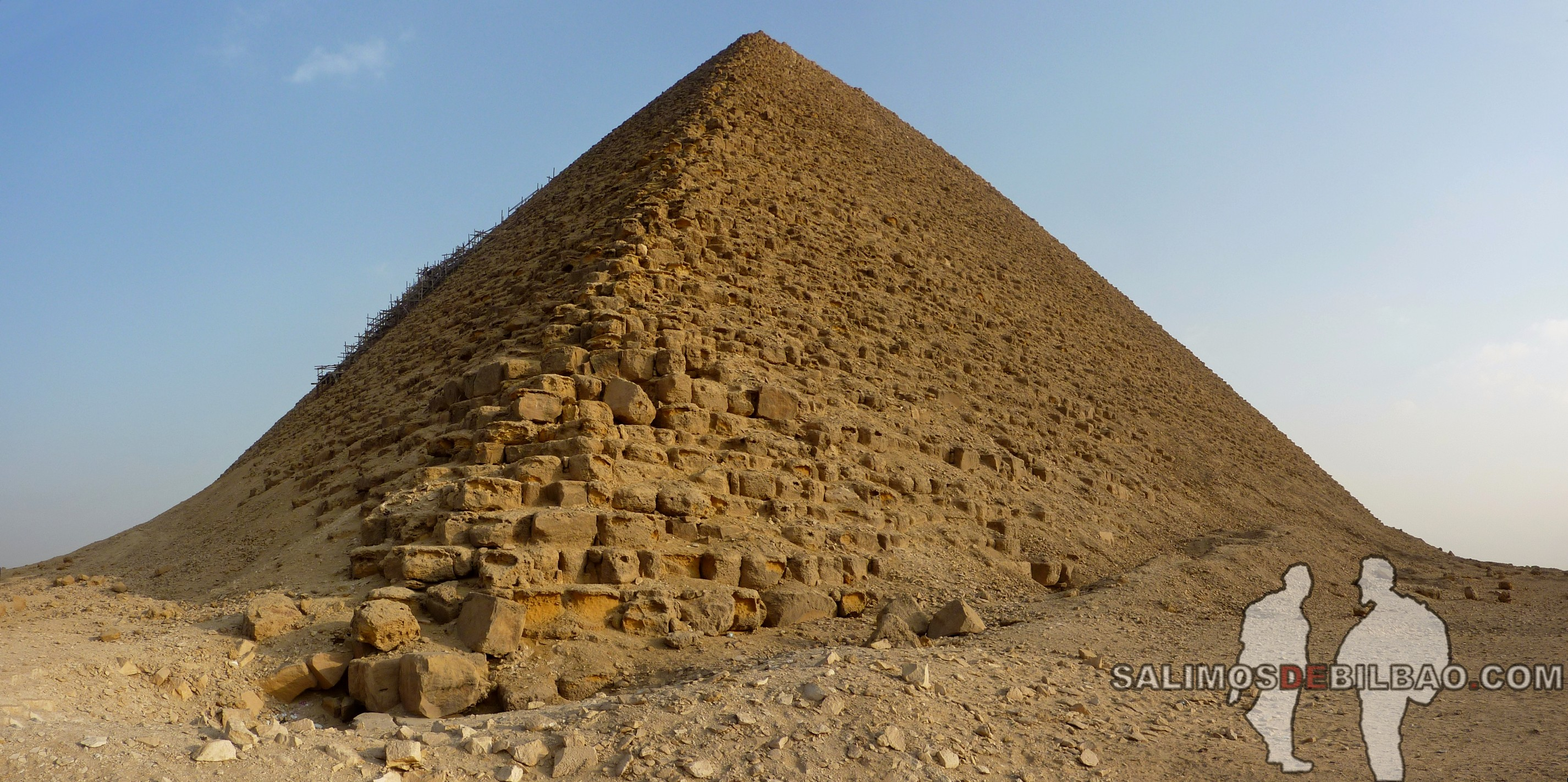 0223. Pano, Pirámide roja de Saqqara