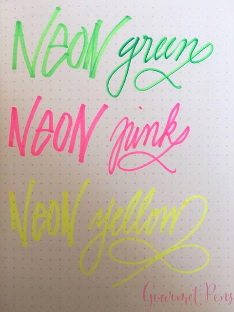 Sharpie Neon Markers @JetPens 2