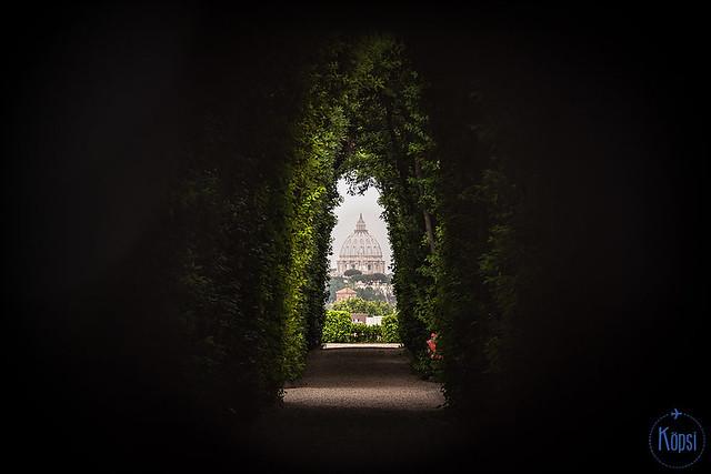 Milja Köpsin kuva - Malta keyhole
