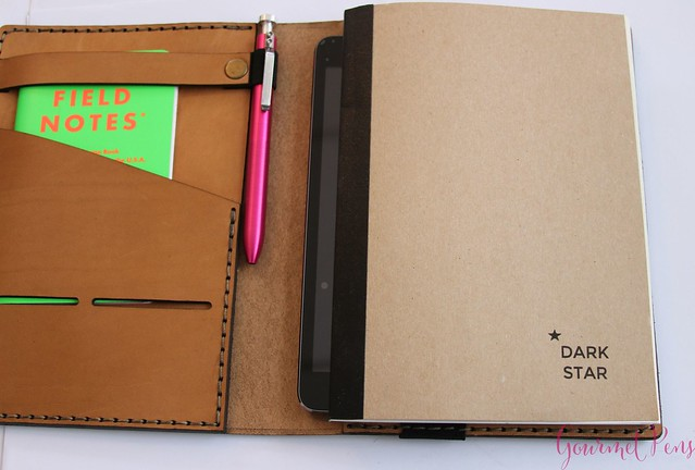 Galen Leather A5 Notebook Cover 2