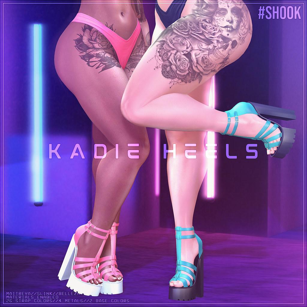 #SHOOK - Kadie Heels @Access - TeleportHub.com Live!