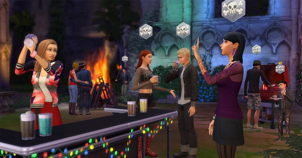 Foto de The Sims 4 Junte-se à Galera Disponível Agora para Consoles