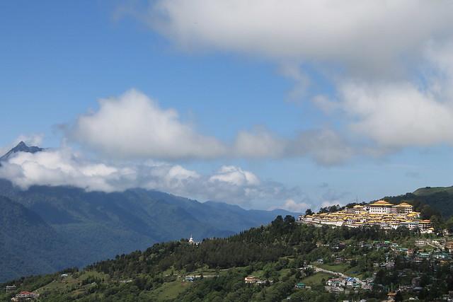 Tawang Monastery from Circuit House