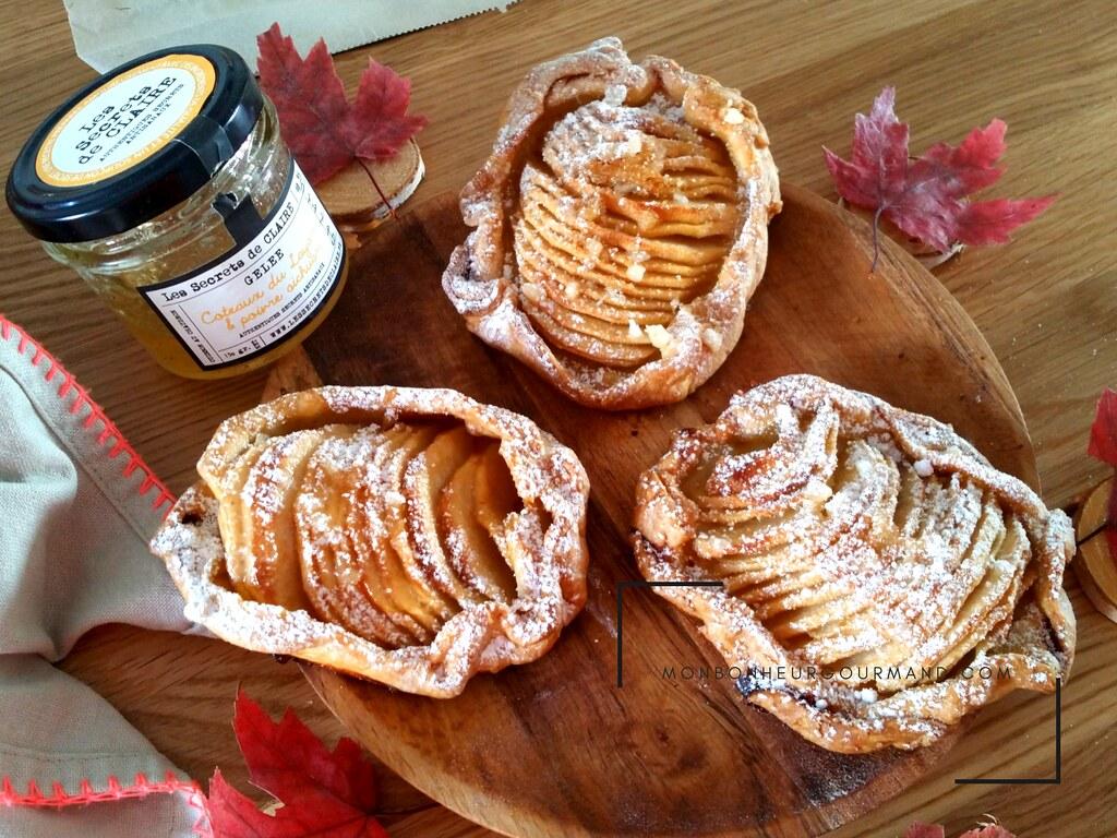 tarte aux pomme rustiques et noix du Périgord