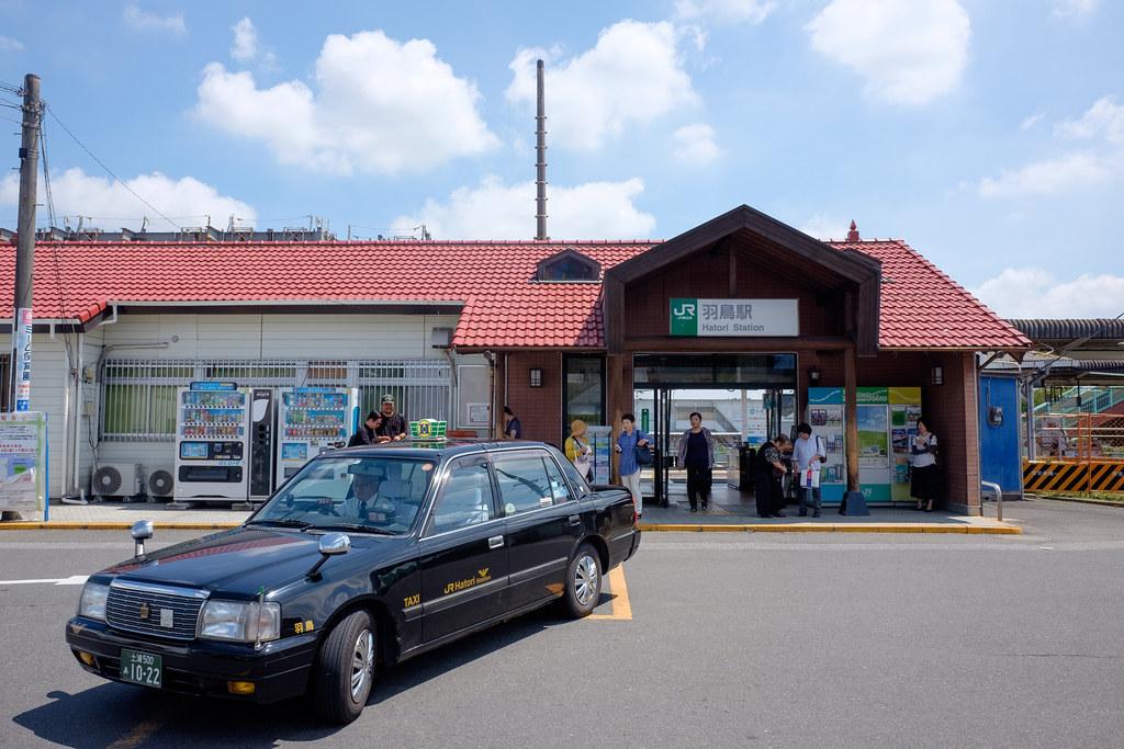 JR常磐線・羽鳥駅 2018/08/14 X7001067