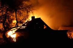 В субботу вечером в Витебске горела «Веста»