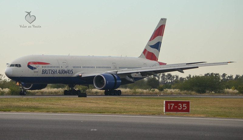 British Airways - Boeing 777-200ER