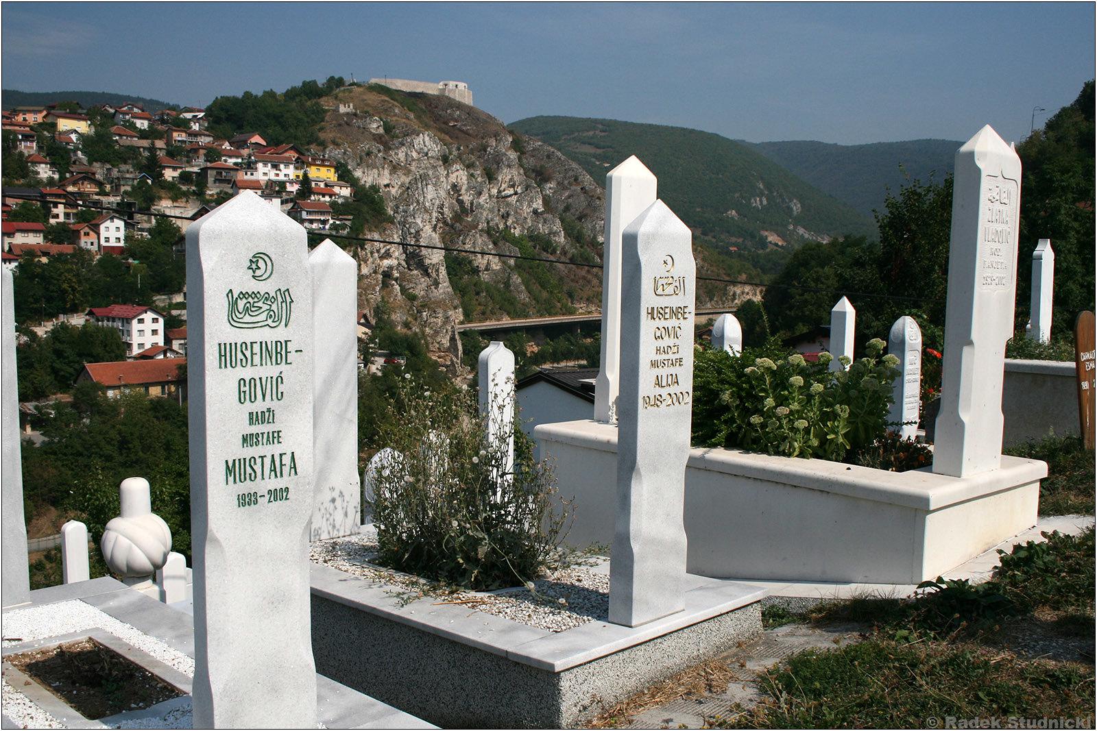 Cmentarz muzułmański w Sarajewie