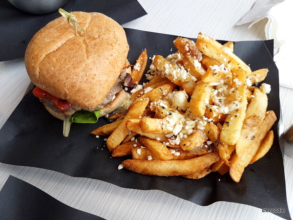 Athena Burger and Olympus Fries