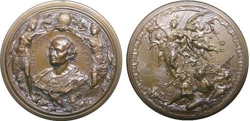 1893 Milan Columbian Exposition Medal