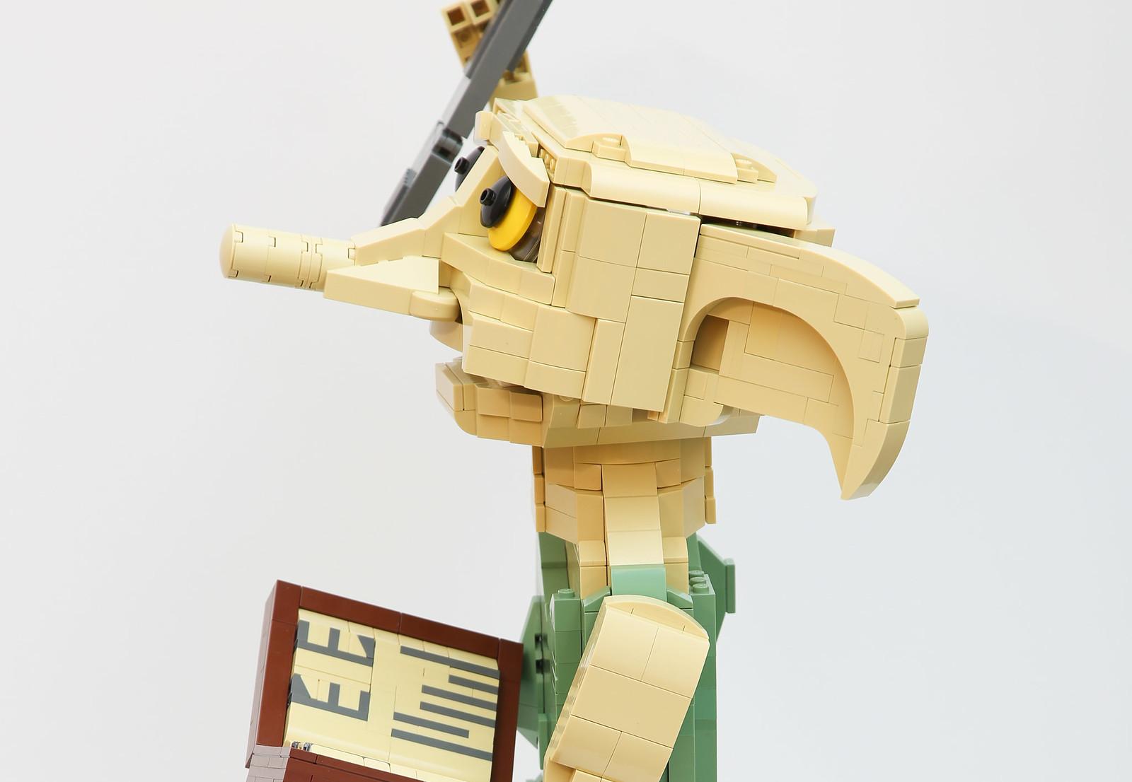 лего саморобка Доббі