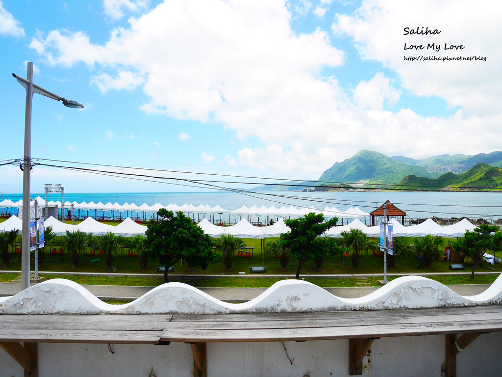 基隆八斗子潮境公園忘幽谷附近海景餐廳希臘天空景觀餐廳 (1)