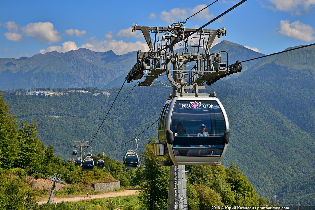 2320 meters.Conquering the top of meters, tell, Plateau, Caucasian, rubles, Farm, here, ridge, Aibga, cable car, August, which, Olympia, Reserved, later, lift, detail, height, sairon, Somehow