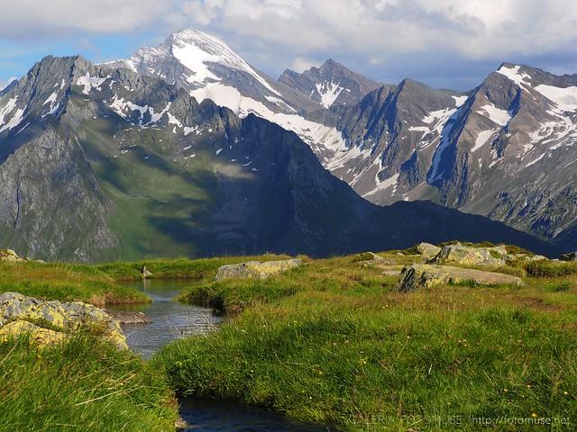 Rottspitz Gruppe in Prettau, Alps, Alto Adige / Suedtirol