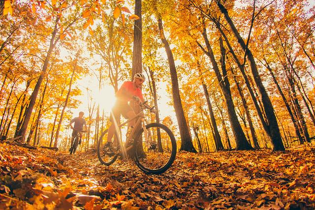 Mountain Biking - Fall Colors