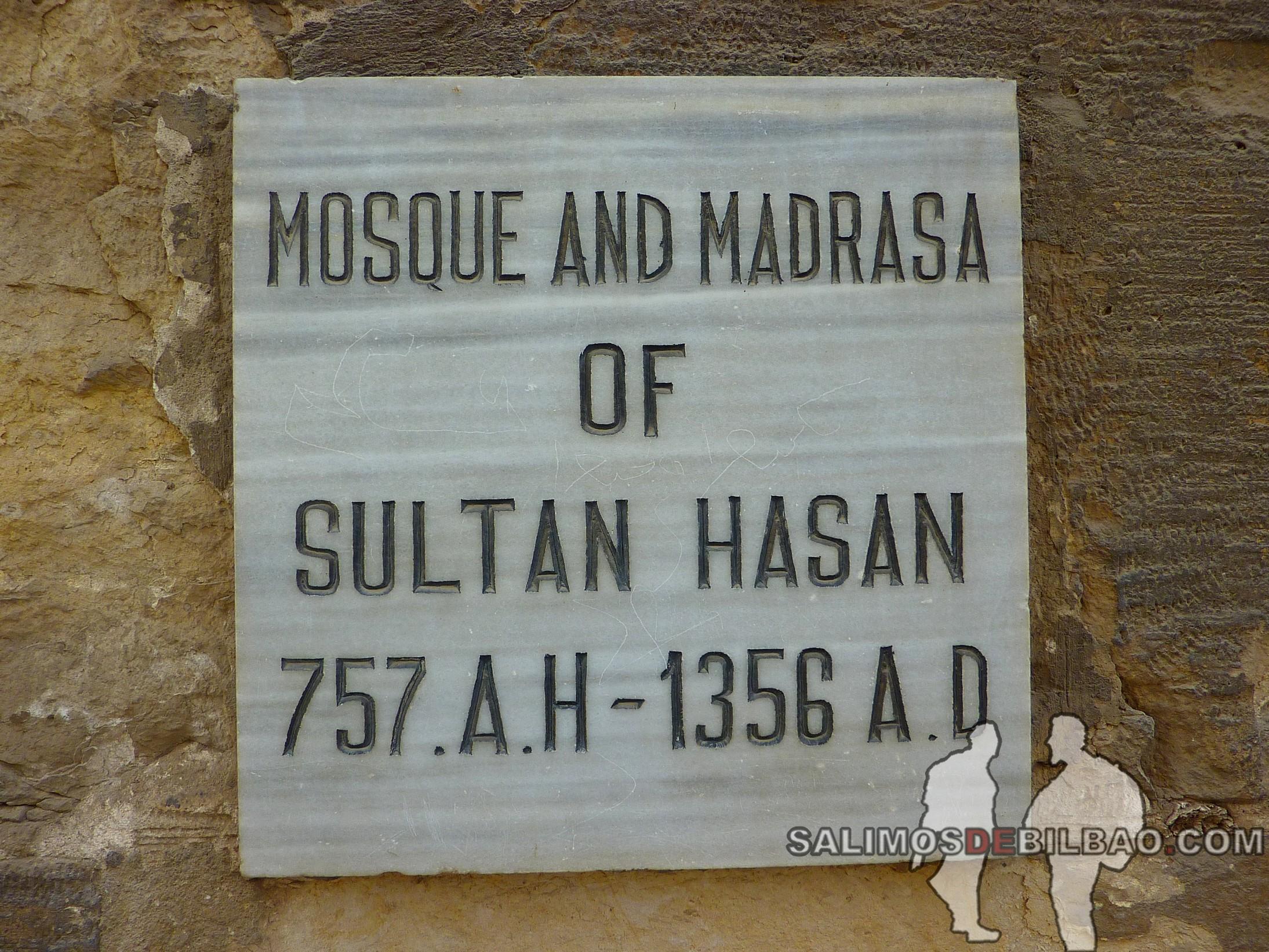 0021. Mezquita y Madraza de Sultan Hasan, Cairo