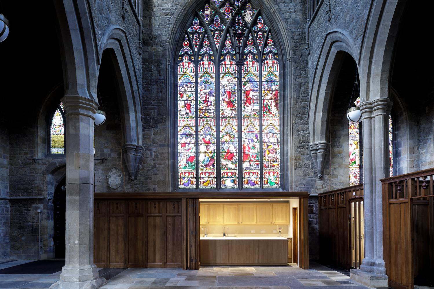St Mary's church, Melton Mobray  - new servery