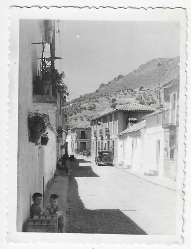 Imágenes de la calle Cervantes de Solana del Pino, Ciudad Real