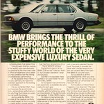Mon, 2015-09-07 12:30 - 1978 BMW 733i Advertisement Playboy June 1978