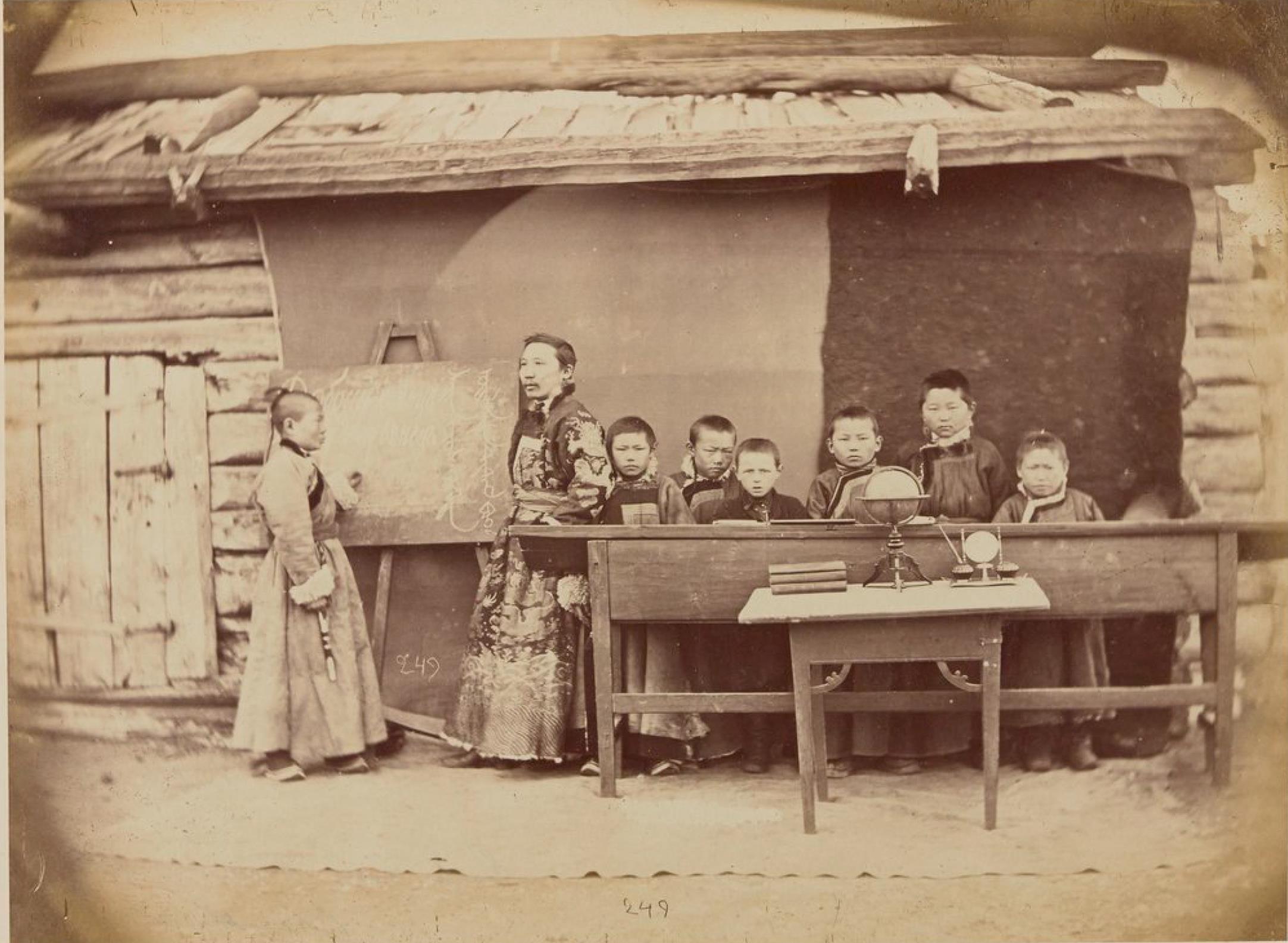 Русско-бурятская школа в Забайкалье