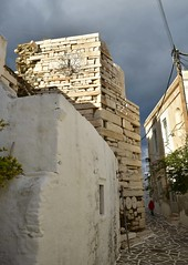 Venetian tower of Paroikia