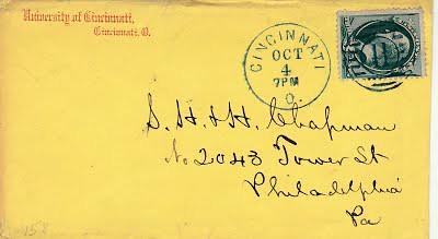 DISNEY, Truman Bishop 10_4_1878 letter to Chapman